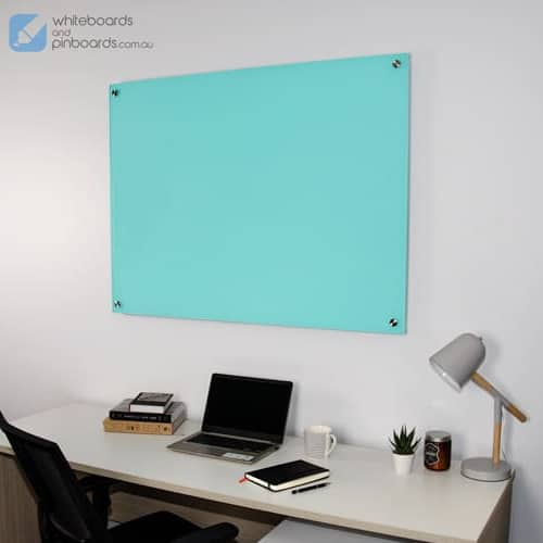Frameless Colour Glass Whiteboard