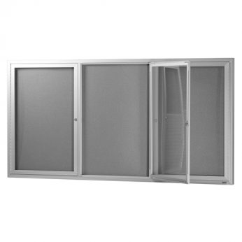 Hinged Door Display Case – Indoor