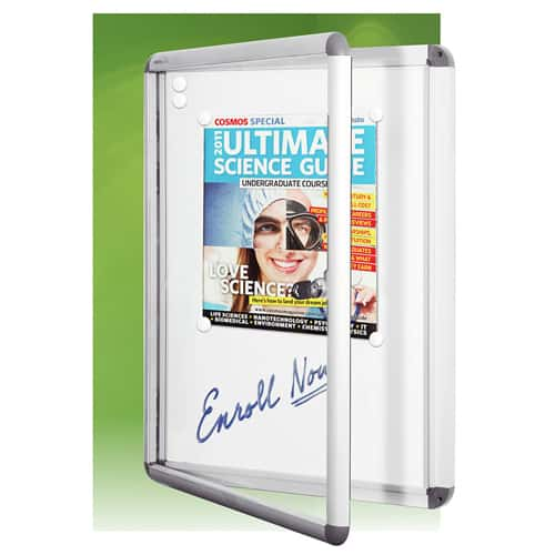 Hinged Door Display Frame