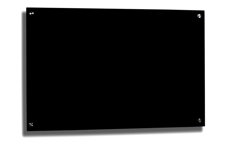 frameless black glass whiteboard magnetic free shipping. Black Bedroom Furniture Sets. Home Design Ideas