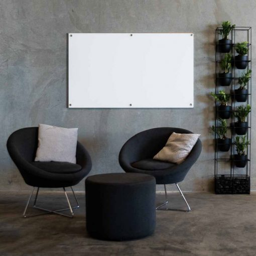 White Glass Whiteboard