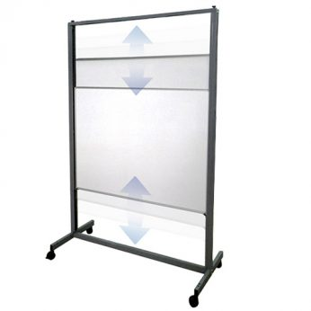 Aspen – Vertical sliding Whiteboard