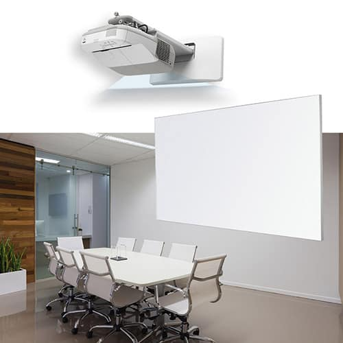 Projection Slimline Frame Whiteboard