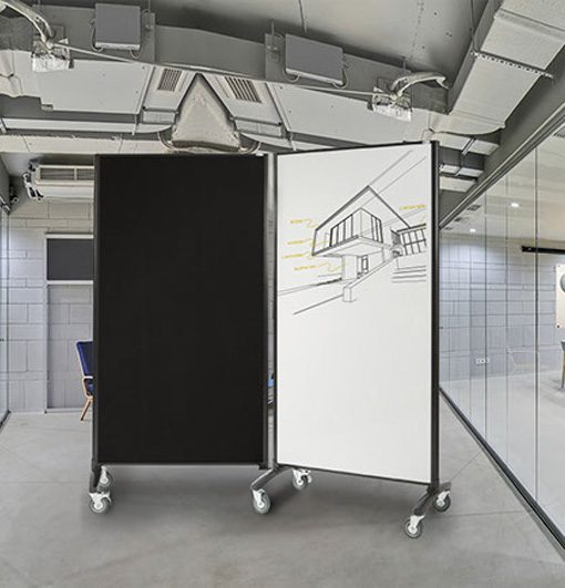 Communication Room Divider Double Sides