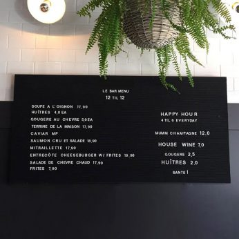 Executive Frameless Letter Board 2