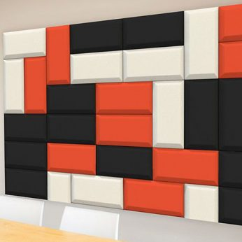 Autex Quietspace 3D Acoustic Tiles – Brick