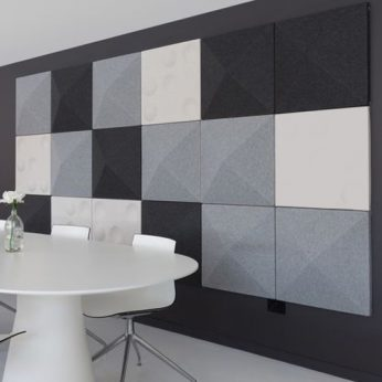 Autex Quietspace 3D Acoustic Tiles – Prism