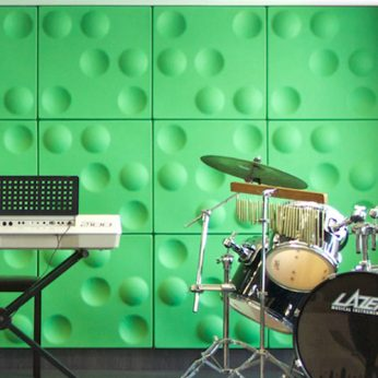 Autex Quietspace 3D Acoustic Tiles – Sphere