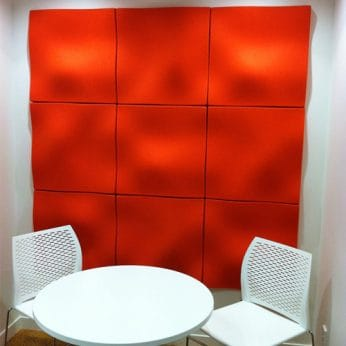 Autex Quietspace 3D Acoustic Tiles – Wave