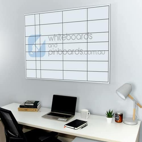 Custom Printed Slimline Frame Whiteboard