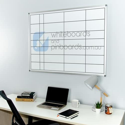 Custom Printed Commercial Whiteboard