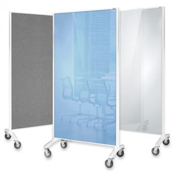 Communication Glassboard Room Divider