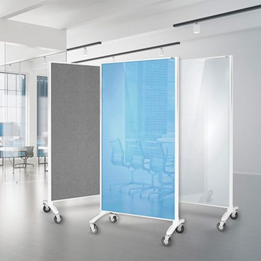 Communication Glassboard Room Divider 5