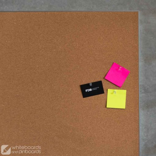 Slimline Corkboard pinned