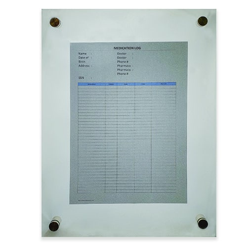 Glass Display Boards