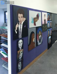 Sheldon College Autex Frameless Pinboard
