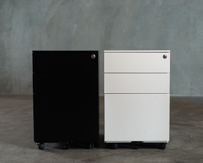 Signature Steel Mobile Pedestal 2
