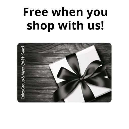 Coles Group Myer Gift Card 2