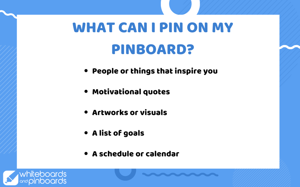 What can i pin on pinboard ideas